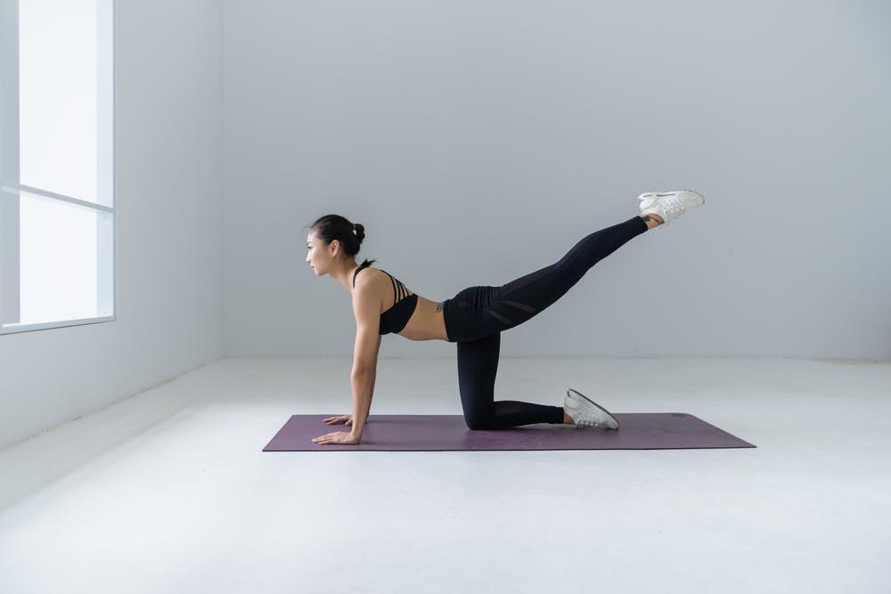 Sporten na de bevalling Pilates